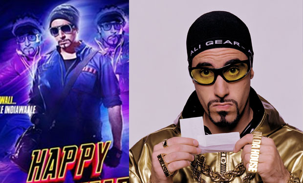 From left to right, Abhishek Bachchan as Nandu in Happy New Year and Sacha Baron Cohen as Ali G.