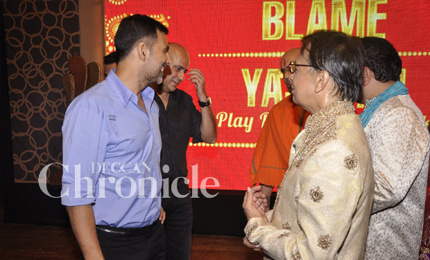 Gaurav Khanna Wife A theater play outing ...