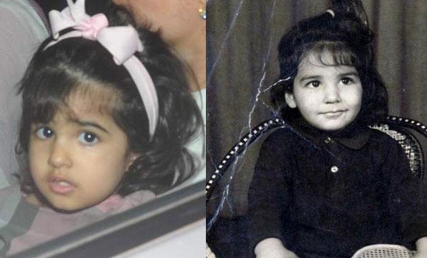 Image result for twinkle and nitara childhood pics