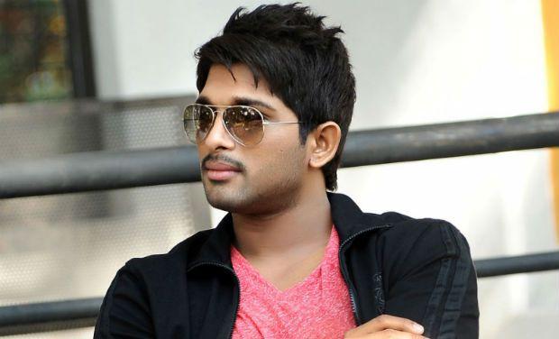 Actor Allu Arjun.