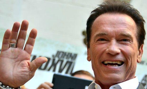 Arnold Schwarzenegger . (Photo: AFP)