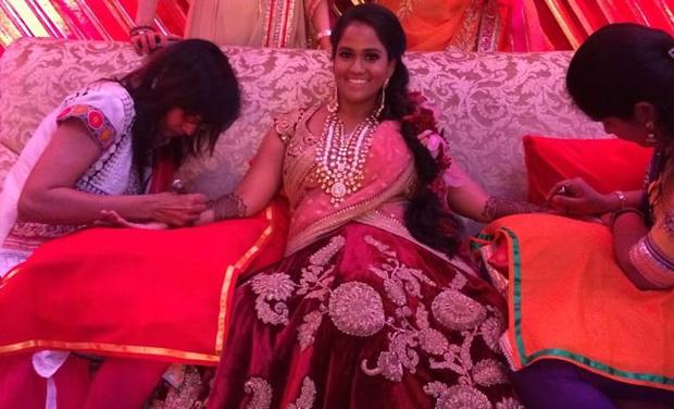 Arpita Mehndi Ceremony : Inside pictures of arpita khan s big royal wedding the