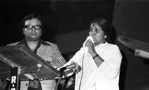 Image result for Asha Bhosle and RD Burman