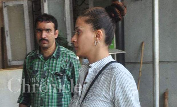 Television stars attend 'Baa' Sudha Shivpuri's funeral