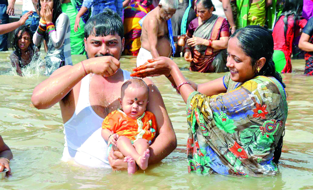 The 12-day long, once-in-a-12-years-river fete Godavari Maha Pushkaralu concluded peacefully barring sporadic incidents of road accidents.