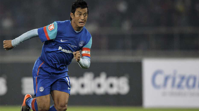 Image result for Bhaichung Bhutia""