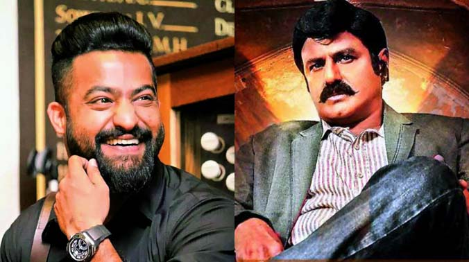 AT LAST ARAVINDA SAMETHA JOINS JUNIOR AND BALAKRISHNA!