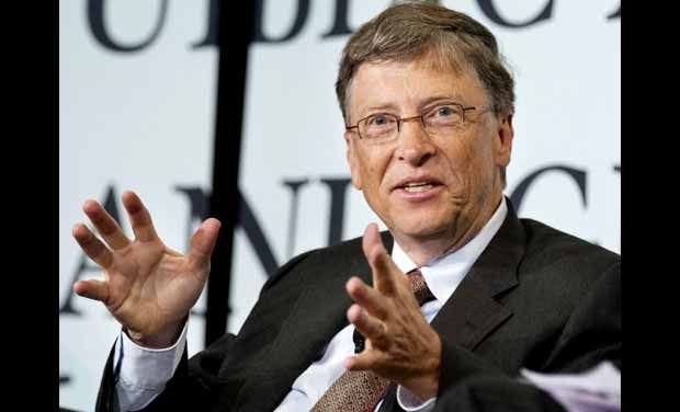 Microsoft founder Bill Gates. Photo: AP