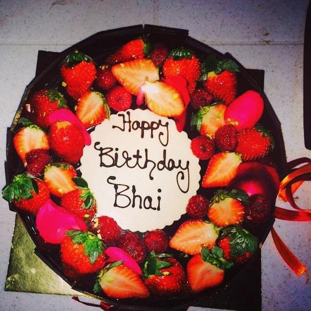Happy Birthday Big Brother Cake Pic Alpha Beta Demo
