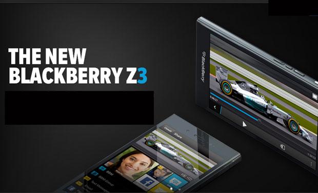 Pre-order BlackBerry Z3 on Flipkart and The Mobile Store