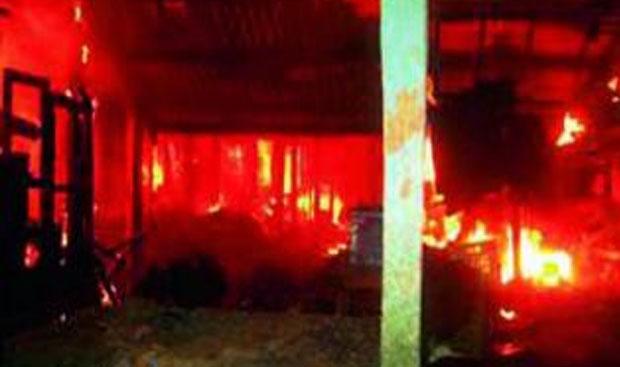 A major fire broke out at the Bombay Talkies warehouse in Borivali, Mumbai, last Thursday.