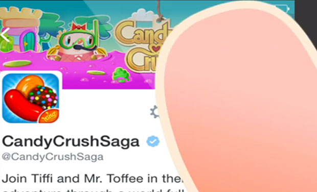 Candy Crush Mr Toffee