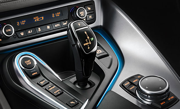 The Refinement Of The Gearshift Lever With Black, High Strength,  Scratch Resistant