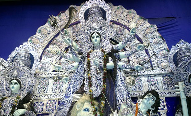 Durga puja pandals experiment with 3d technology representational image picture courtesy pixabay altavistaventures Choice Image