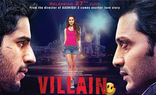 Movie Review Ek Villain Watch The Film For Riteish And Riteish Alone