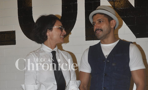 Farhan akhtar launches wife 39 s new salon in mumbai for Adhuna akhtar salon