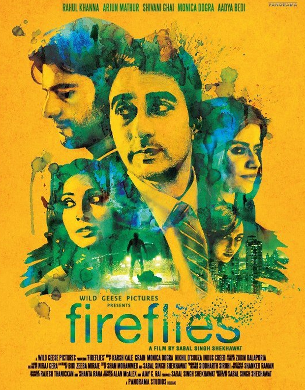 Promotional poster of 'Fireflies'