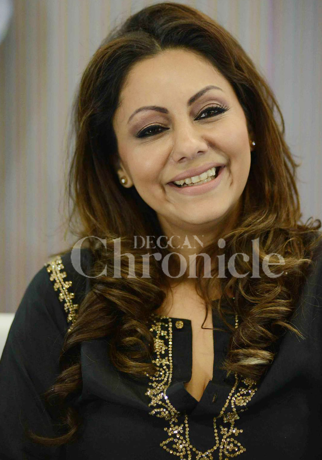 Gauri Khan Displays Her Home Decor Collection At Delhi Expo
