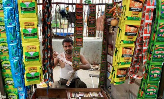 Illegal gutka sale rampant. (PHoto: PTI)