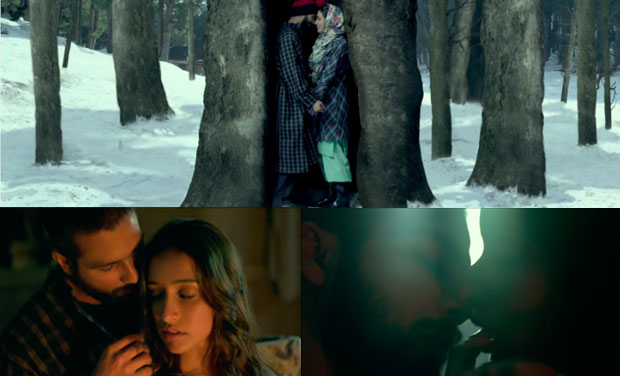 Stills from the movie 'Haider'.