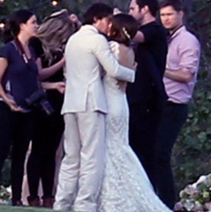 Ian somerhalder and nikki reed are married ian and nikki seem lost in each other junglespirit Images