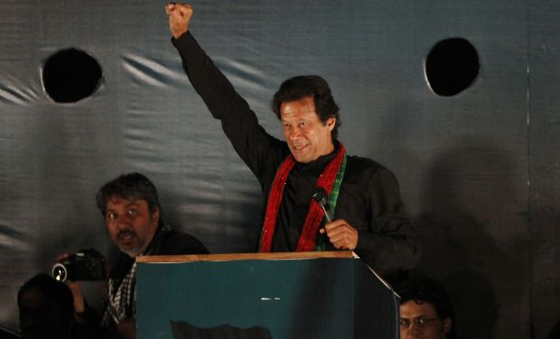 Pakistan politician Imran Khan (Photo: AP)