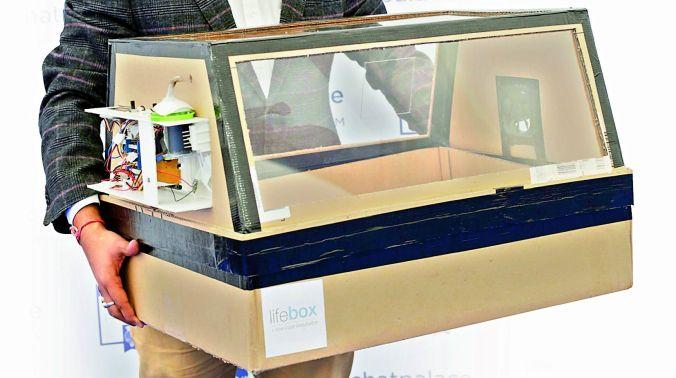 Low cost incubator created by Malav Sanghvi