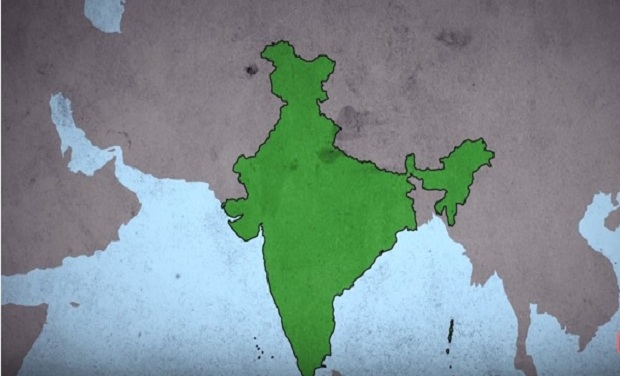 Watch guide to the history of various indian states with a funny twist a screen grab showing the map of india picture courtesy youtube east gumiabroncs Images