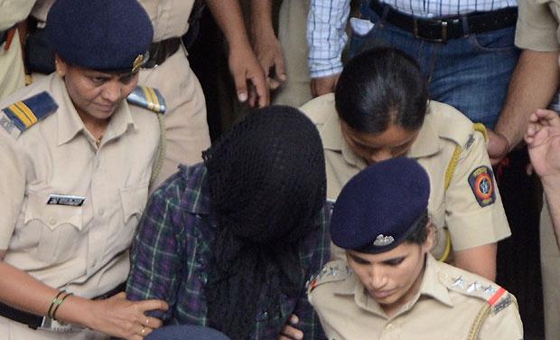 Indrani Mukerjea in police custody. (Photo: DC)