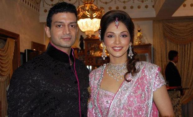 Isha Koppikar and her husband Timmy Narang.