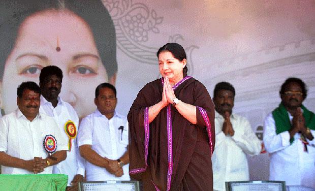 Former Tamil Nadu chief minister, Jayalalithaa (Photo: AFP/File)