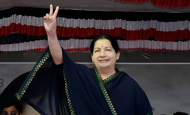 Former Tamil Nadu Chief Minister Jayalalithaa. (Photo: DC)