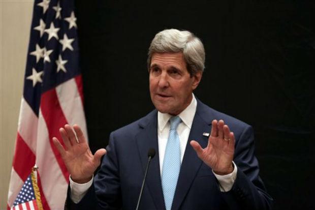 US Secretary of State John Kerry. (Photo: AP)