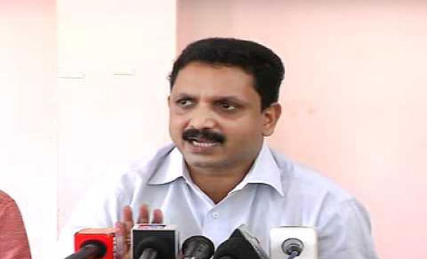 K Surendran, General Secretary of BJP (Photo: DC)
