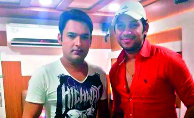 Kapil Sharma with Raaj Shaandilyaa (Photo: DC)