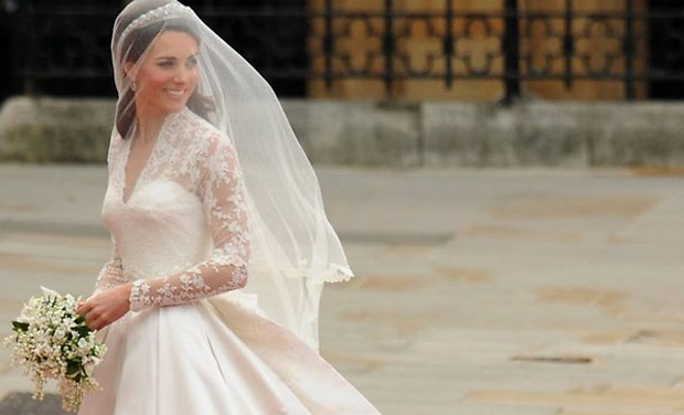 Grace Kelly beats Kate Middleton at 'most stylish bride' title. (Photo: AFP)