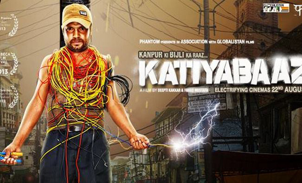 A promotional poster of Katiyabaaz (Documentary)