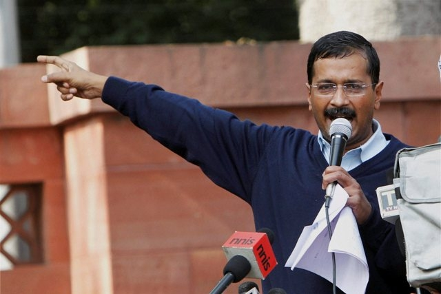 Fact Check: Did a woman throw dirty water at Arvind