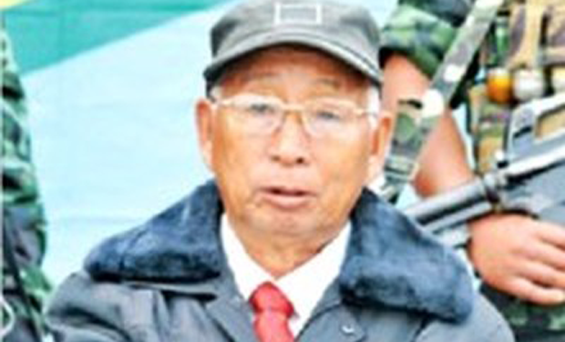 NSCN(K) chief S S Khaplang. (Photo: PTI)