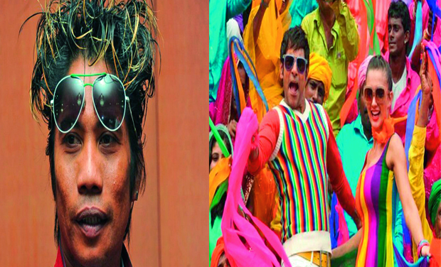 Action director Peter Hein (left) and a still from Ai      (Photo: DC)