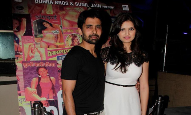Actor Rahul Bagga with co-star Tara-Alisha Berry of Mastram (Photo: DC)