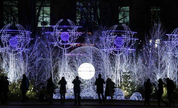Atlanta Christmas Light Installation