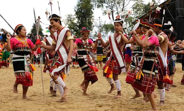 Nagaland swings at Hornbill festival