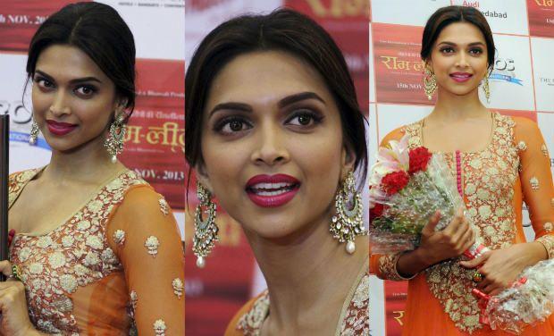 Deepika Padukone's looks at 'Ram-Leela' promotions