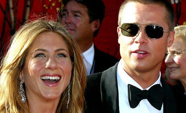 Jennifer Aniston And Brad Pitt 2013 High Profile Ce...