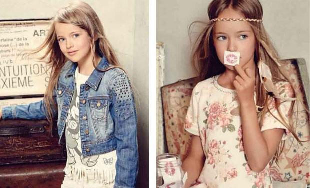 Meet the worlds youngest supermodel kristina pimenova kristina pimenova is only nine years old but the child model has already altavistaventures Gallery