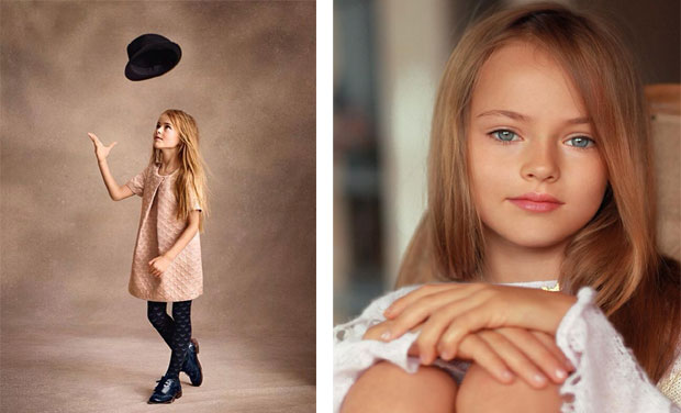 Meet the worlds youngest supermodel kristina pimenova despite the flak kristina is just the latest child model to take the world by altavistaventures Images