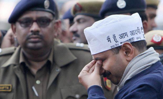 Image result for arvind kejriwal sad