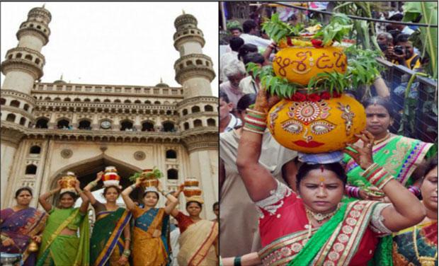 Hyderabad Celebrates Bonalu Festival
