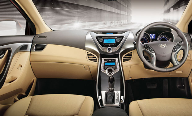 Hyundai Elantra Sedan Features An Advanced Air And Heating System, The  Latest Audio Applications And